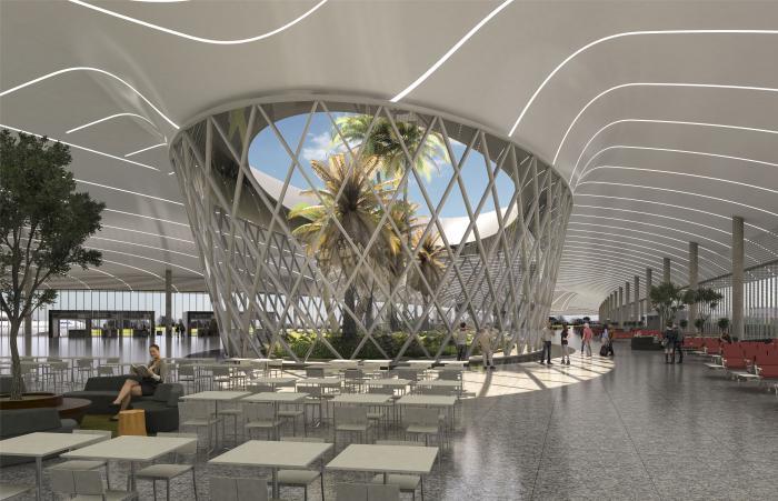 diseño del nuevo aeropuerto