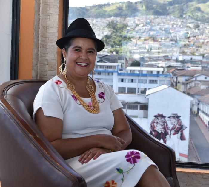 Lourdes Tibán