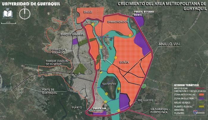 Daule, Durán, Samborondón y Guayaquil están más unidos de lo que la gente cree, dice Espinoza.