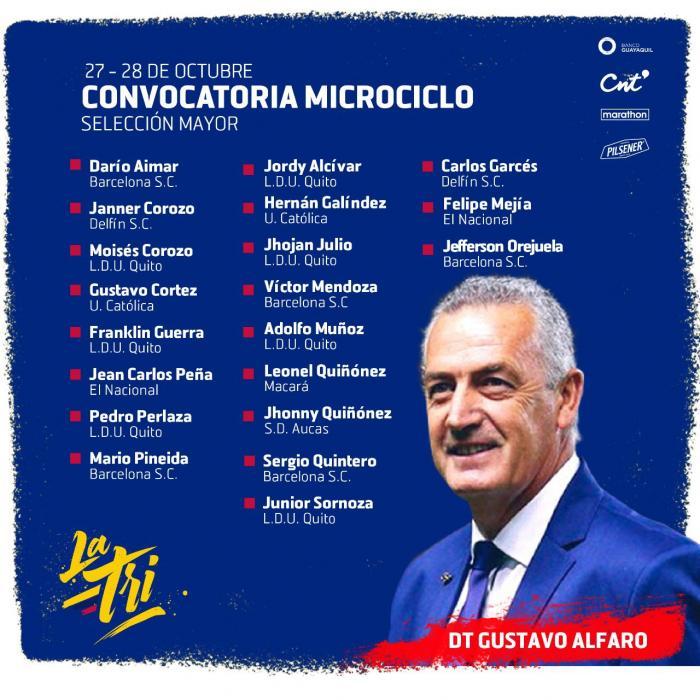 Convocatoria-Alfaro-Microciclo-Selección