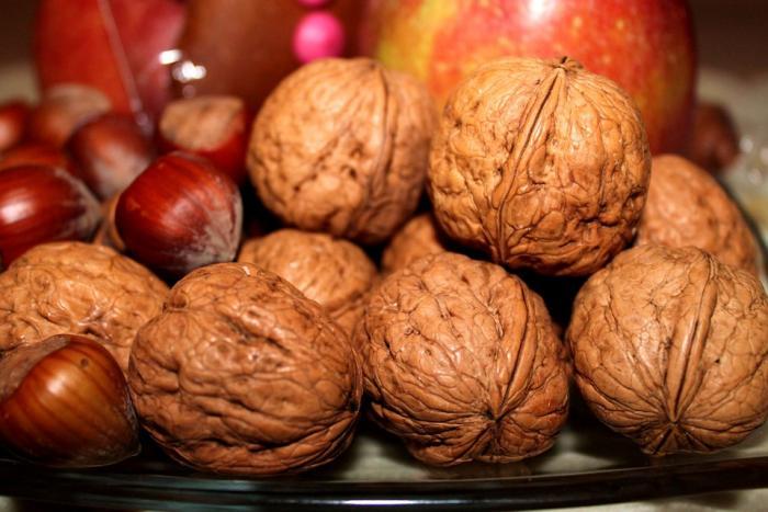 Los frutos secos como las nueces son ricos en ácidos Omega 3.