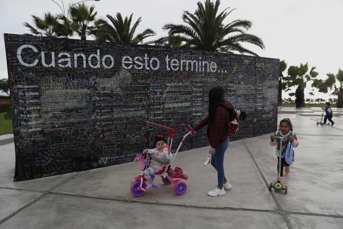 """El muro de la esperanza"" - Perú"