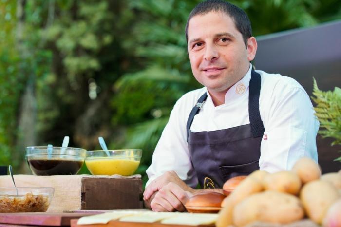 Ariel Gravano, chef argentino