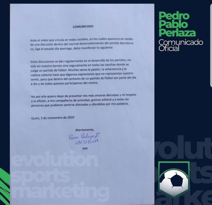 DISCULPA-PEDRO-PABLO-PERLAZA