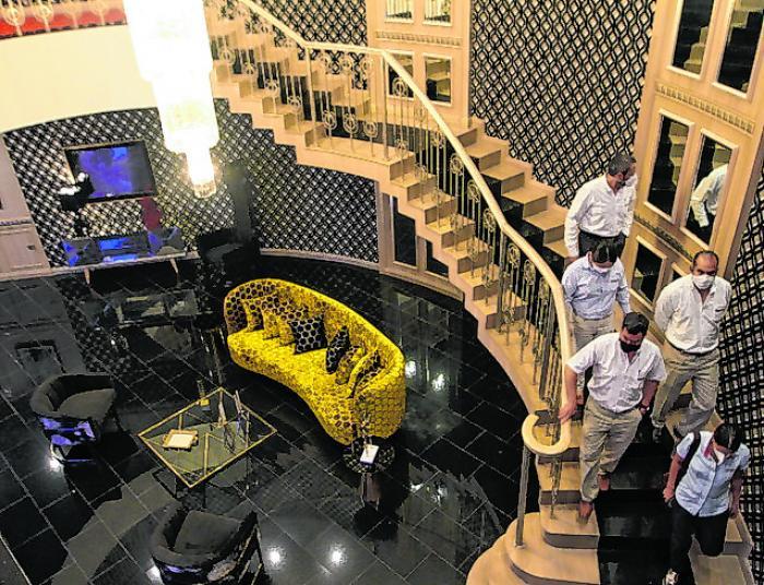 Este es el aspecto de las nuevas salas VIP que tiene la edificación.