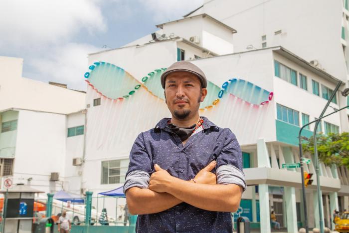 Macas calle panama guayaquil ecuador arte urbano