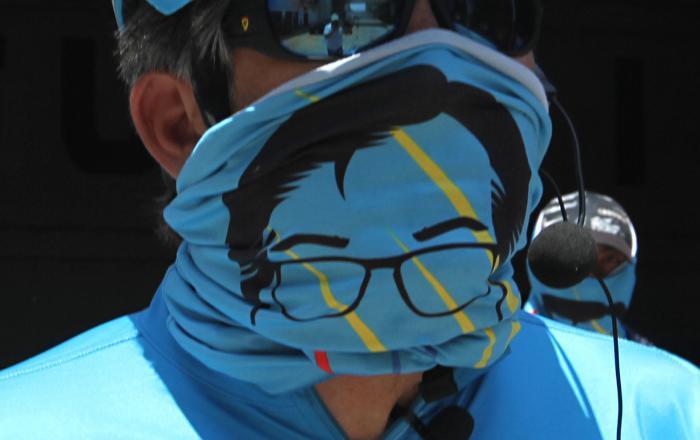 César Montúfar, candidato a presidente. Detalle