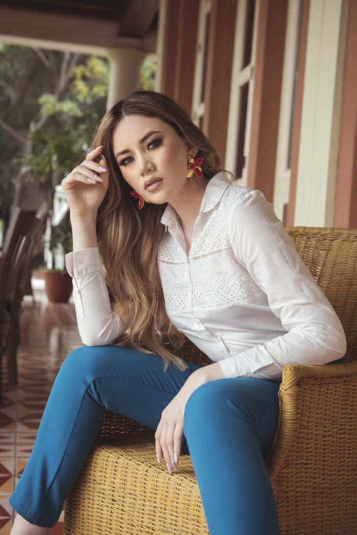 Geanella Villamar, virreina de Guayaquil
