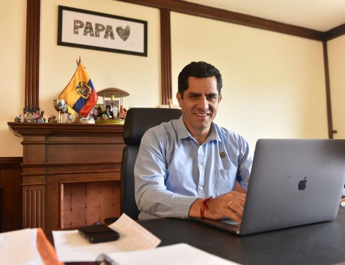 Xavier Hervas es un empresario con cinco hijos.