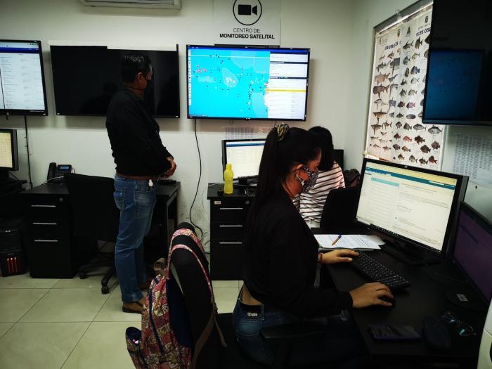 Central de monitoreo del atún,