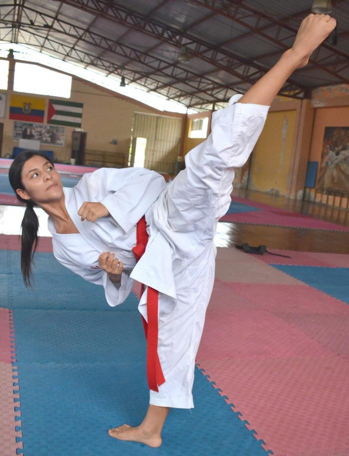 Mikaela-Enriquez-karateca-Olímpicos