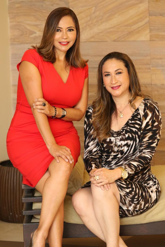 Verónica y Ximena