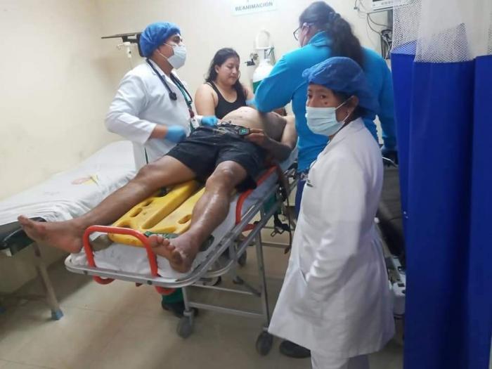 TURISTAS ATENDIDOS EN EL HOSPITAL