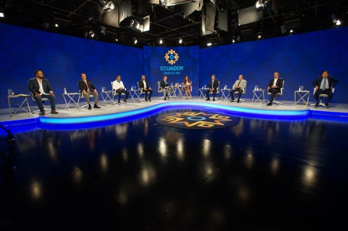 El debate arrancó la ronda de Corrupción e Institucionalidad democrática.