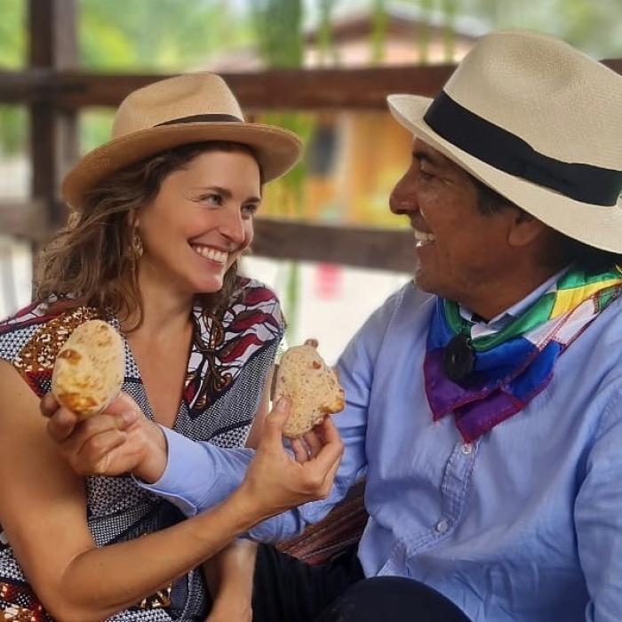 Manuela Picq y Yaku Pérez