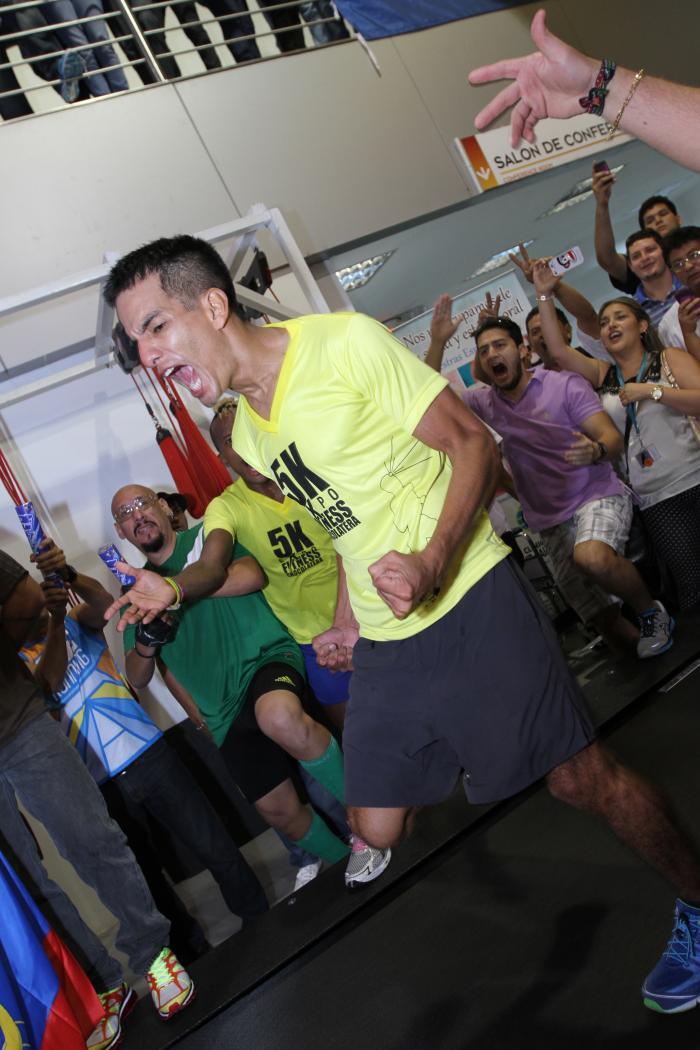 Ronald Insuaste ultramaratonista