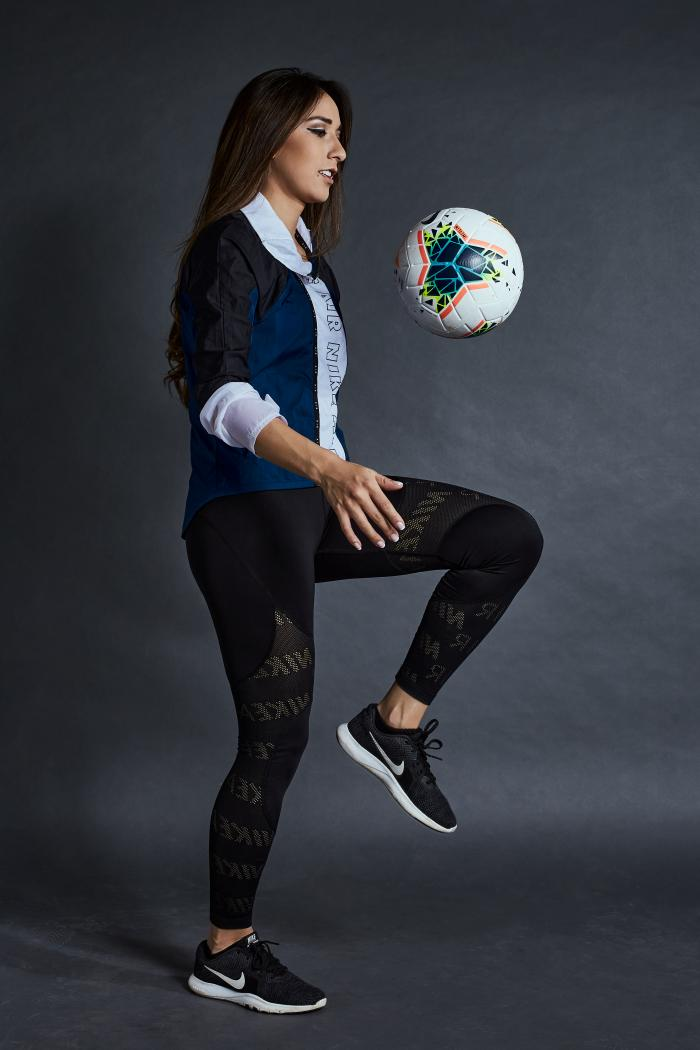 Fernanda Vásconez, futbolista quiteña