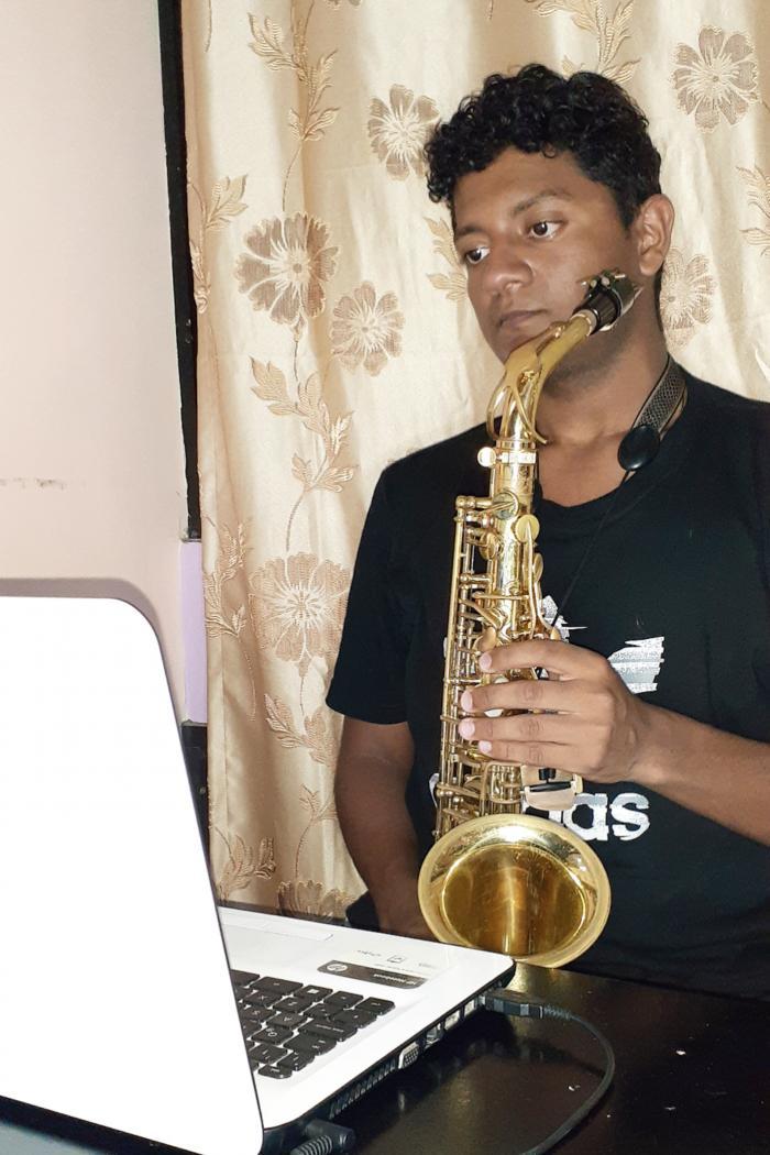 Israel Navarrete_Estudiante de Música