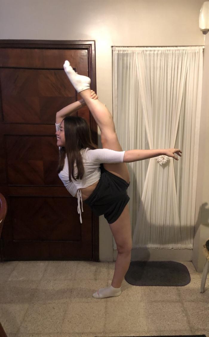 María José Villamar_Estudiante de danza