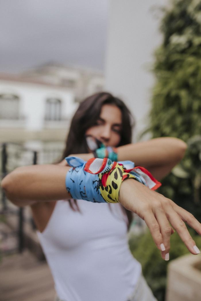 Pañuelo de Cristi Muñoz