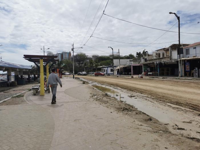 Turismo. Este es el escenario al que llegan los turistas que se asoman a la zona norte del balneario de la provincia, cerca del rompeolas.