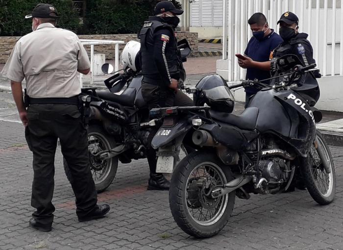 Motos policias