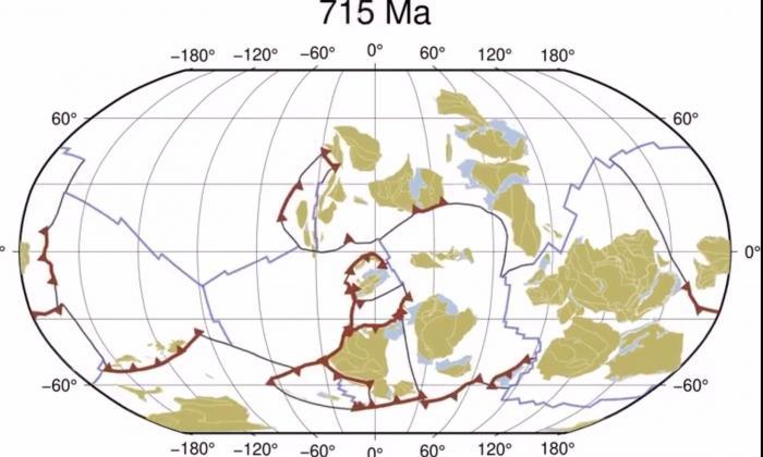 EuropaPress_3553467_evolucion_tectonica_placas_hace_mil_millones_anos_presente