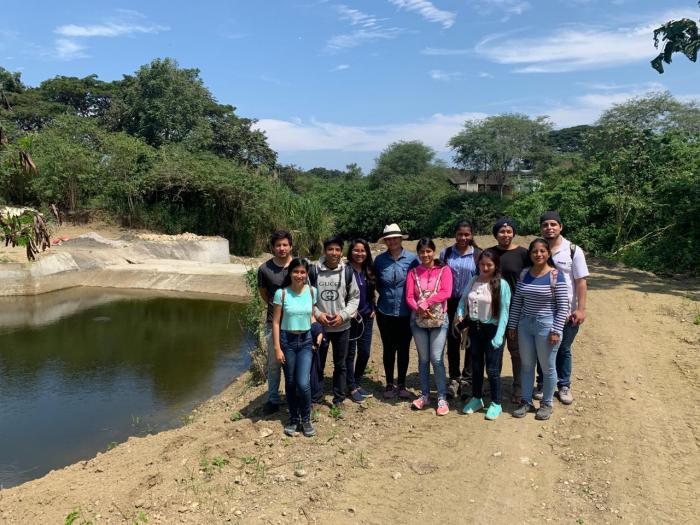 Agua en Santa Elena_Técnica ancestral