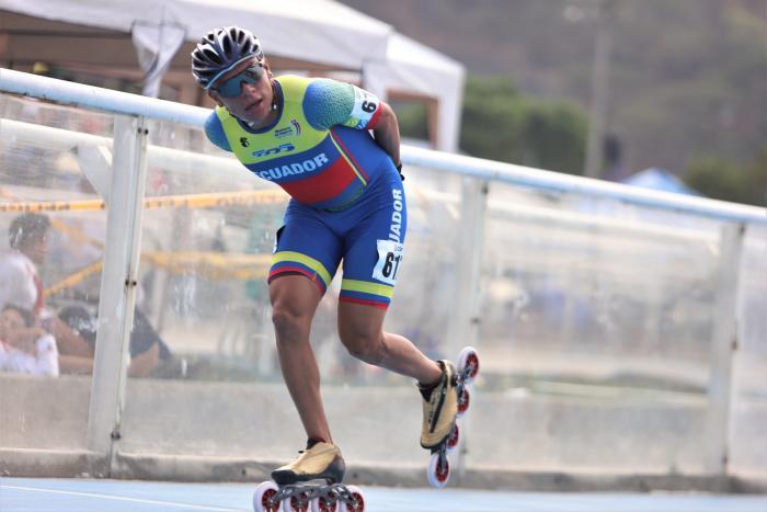 Joel Guacho patinaje Ecuador