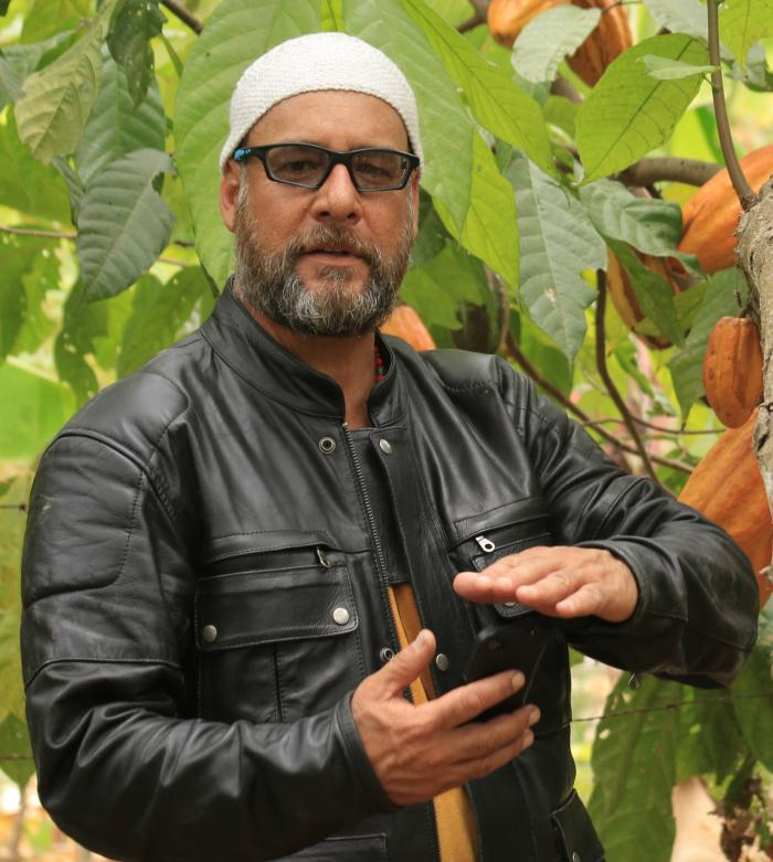 Juan Carlos Castillo, ecuatoriano, productor de TV