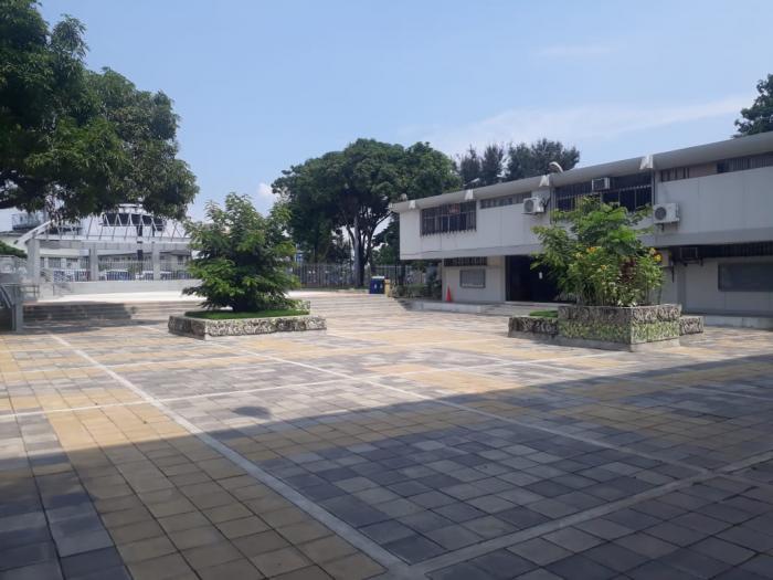 Sombras y espacios caracterizan a la UG hoy.