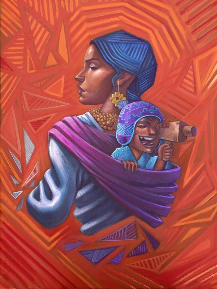 Obra del artista Apitatán