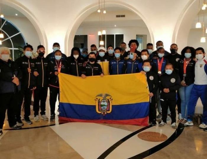 Darwin Castro paratletismo Ecuador