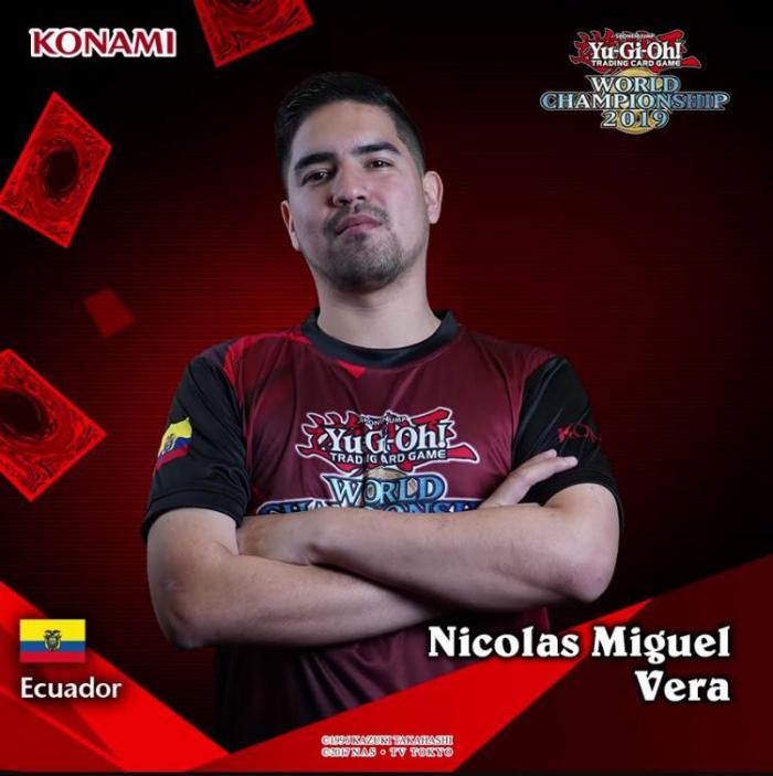 Nicolás Vera YuGiOh!