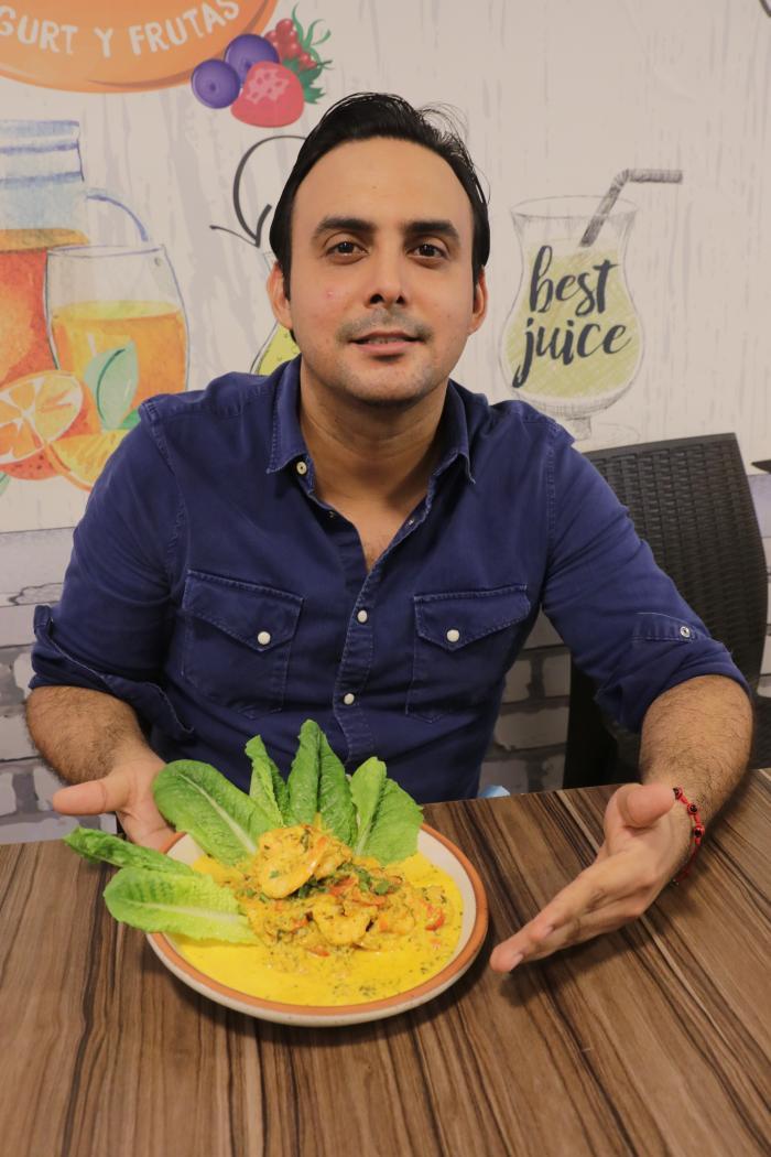 Christian Chávez, propietario del restaurante Guayé