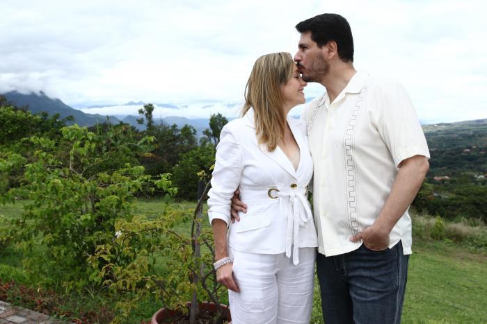 Yadira Palacios y Pedro Palacios