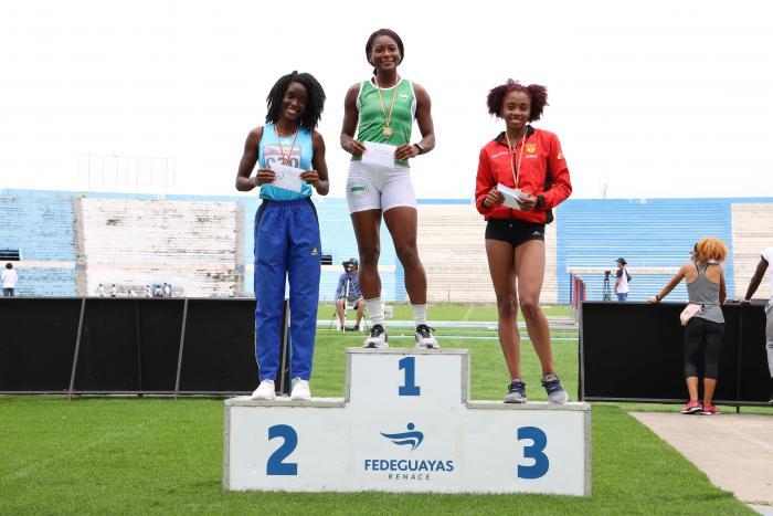 Marizol Landázuri atletismo Ecuador