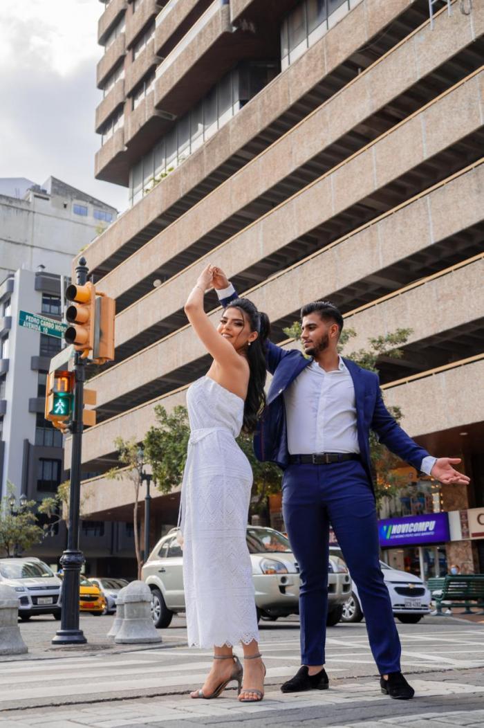 Emma Guerrero y Fernando Zúñiga.
