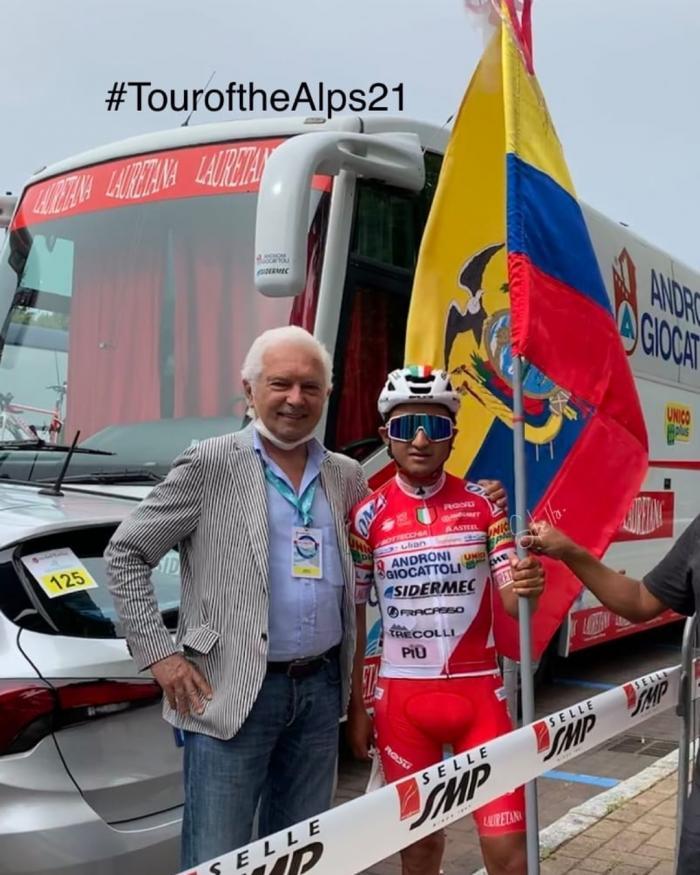 Alexander Cepeda Tour de los Alpes