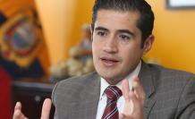 Ministro de Economía y Finanzas, Richard Martínez