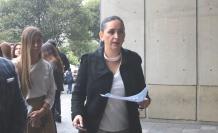 Dora Ordóñez, secretaria anticorrupción.