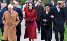 Familia real británica.