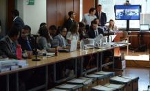 Segundo día de audiencia de juzgamiento en caso Sobornos. Febrero 11, 2020.