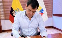 Cesar Litardo, presidente de la Asamblea Nacional