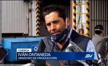 Iván Ontaneda, ministro de la Producción