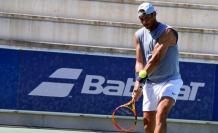 Rafael Nadal tenis España entrena