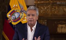 Entrevista virtual a Lenín Moreno, viernes 23 de mayo de 2020. Foto: Presidencia