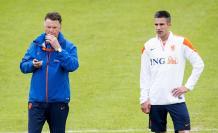 Van Gaal Van Persie Holanda Mundial 2014