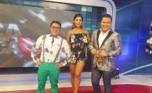 Mauricio Altamirano, Lissette Cedeño y Miguel Cedeño.