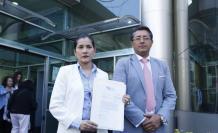 Sofía Almeida y Christian Cruz requieren la revisión de postulaciones ante Contraloría.